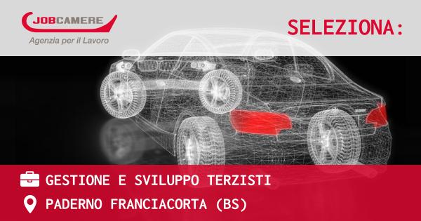 OFFERTA LAVORO - GESTIONE E SVILUPPO TERZISTI - PADERNO FRANCIACORTA (BS)